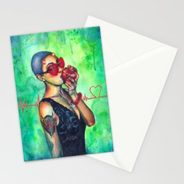 I HEART you Stationery Cards