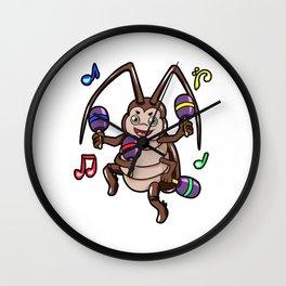 la cucaracha Wall Clock