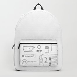 Stionery and desk items Backpack