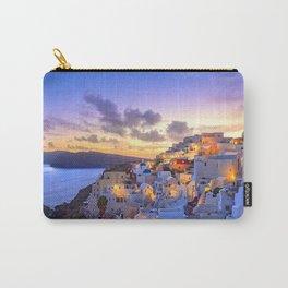 Santorini #society6 #decor #buyart Carry-All Pouch