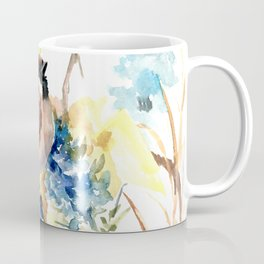 Sparrow in the Field Coffee Mug