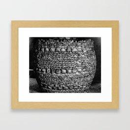 Barrel of Bones Framed Art Print