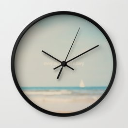 every summer has a story ... Wall Clock