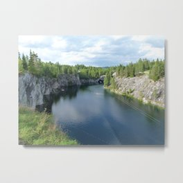 Marble canyon Metal Print