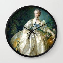 Madame Bergeret Wall Clock