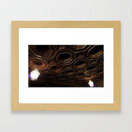 Library Ceiling in the Castle Framed Art Print