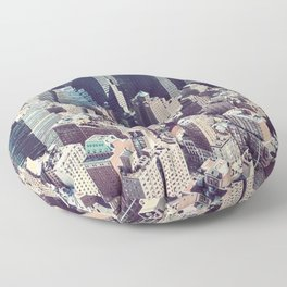 New york, New york Floor Pillow