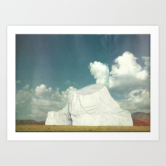 Prairieberg Art Print