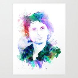 Matthew Bellamy Art Print