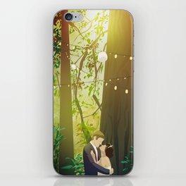Redwoods Wedding iPhone Skin