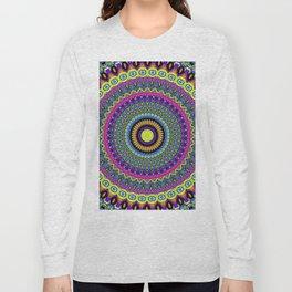 vivid boho mandala Long Sleeve T-shirt