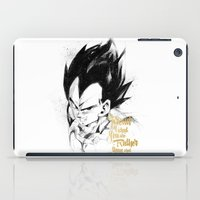 dragonball iPad Cases featuring Dragonball Z - Pride by Straife01