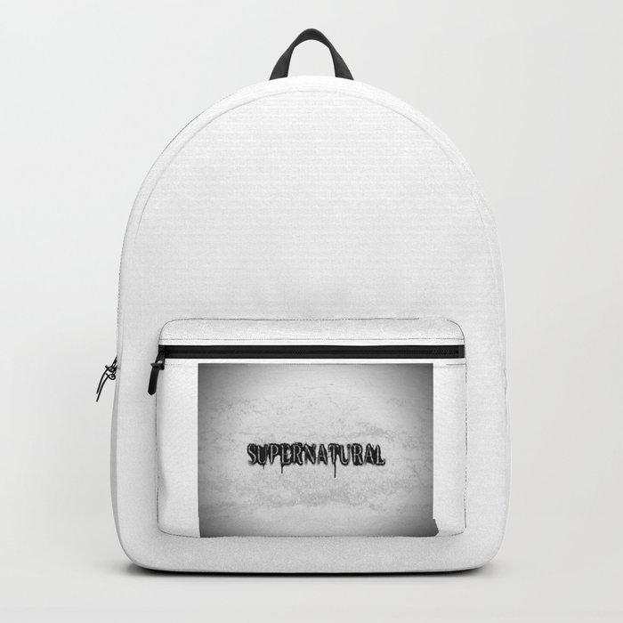 Supernatural monochrome Rucksack