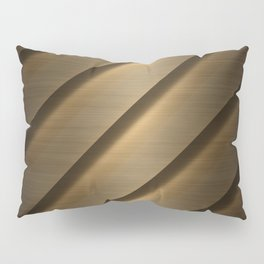 Copper Brass Metal Pipe Pillow Sham