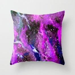 Galaxy (pink) Throw Pillow