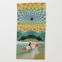 Surfer Beach Towel