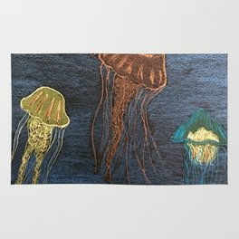 Jellyfishes Rug