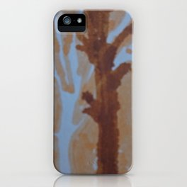 Mark of a street tree iPhone Case