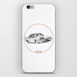 Crazy Car Art 0220 iPhone Skin