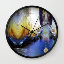 Acclaims, jams, frights thrift. Wall Clock