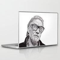 snatch Laptop & iPad Skins featuring Alan by Rik Reimert
