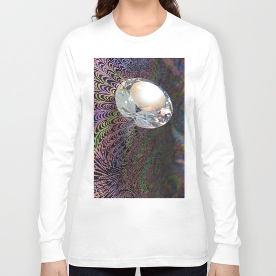Abstract Precious 4 Long Sleeve T-shirt