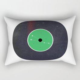 Vinyl Record Star Sign Art | Taurus Rectangular Pillow