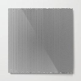 Tone Metal Print
