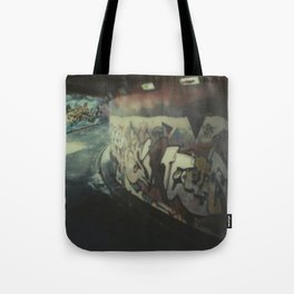 London Graffiti Tote Bag