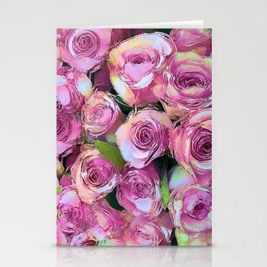 Gypsy Roses Stationery Cards