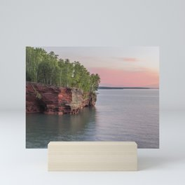 Lake Superior Sea Caves Mini Art Print