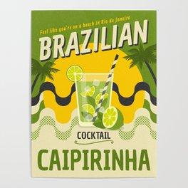 BRAZILIAN CAIPIRINHA Poster