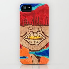 Tribe Woman of Harama iPhone Case