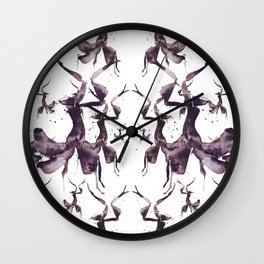 Praying_Pink_Mantis Wall Clock