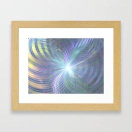 fractal: beginning Framed Art Print