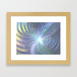 fractal: beginning Framed Art Print