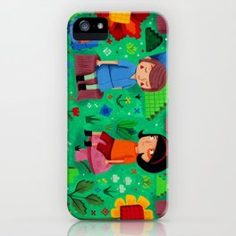 Pixel Garden iPhone Case