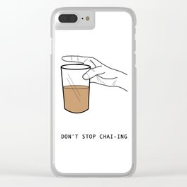 Chai Lover Clear iPhone Case