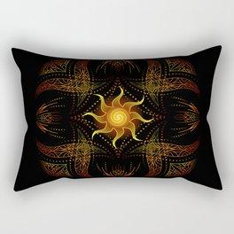 sun energy. part two Rectangular Pillow
