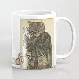 Tambourine Cat Coffee Mug