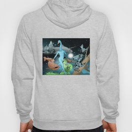 The Swan's Procession Hoody