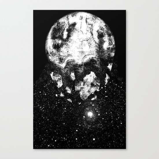 The Moon Is Down Canvas Print