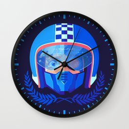 Lightspeed Racer Wall Clock