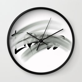 Erased Wall Clock
