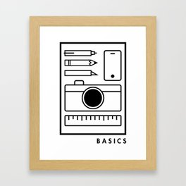 Basics Framed Art Print