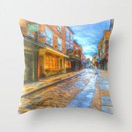 Shambles York Art Throw Pillow