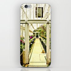 Life in  a glass house iPhone & iPod Skin