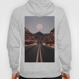 Road Red Moon Hoody