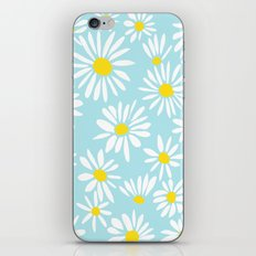White Daisies iPhone & iPod Skin