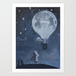 He Gave me The Brightest Star Art Print